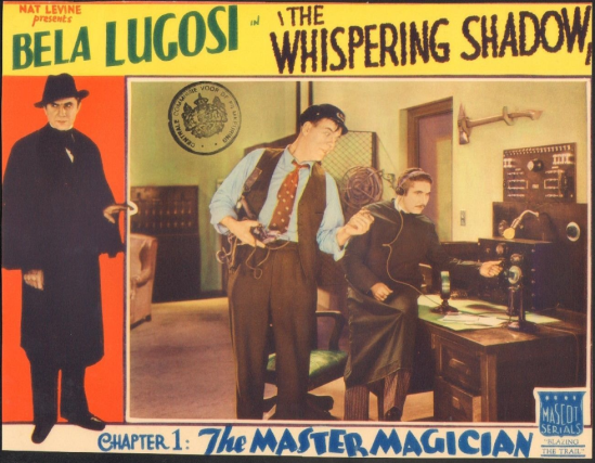The Whispering Shaqow Lobby Card 6
