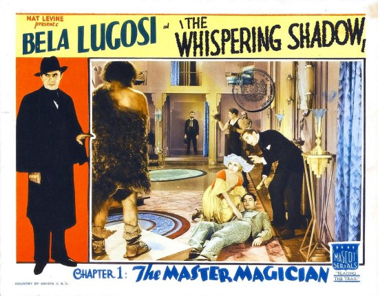 The Whispering Shaqow Lobby Card 7