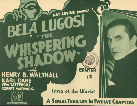 The Whispering Shaqow Lobby Card 8