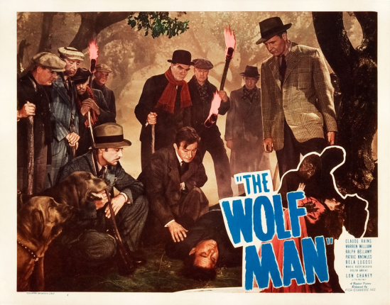 The Wolf Man 1948 Re-Release Lobby Card 3