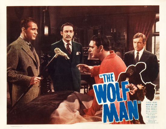 The Wolf Man 1948 Re-Release Lobby Card 5