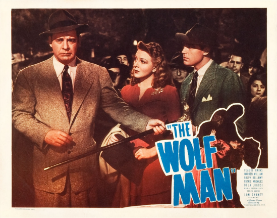 The Wolf Man 1948 Re-Release Lobby Card 6