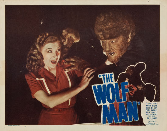 The Wolf Man 1948 Re-Release Lobby Card 7
