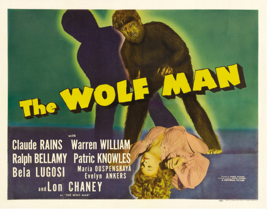 The Wolf Man Half Sheet