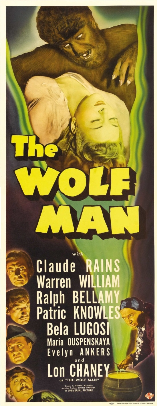 The Wolf Man Insert