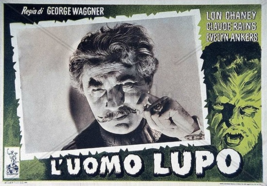 The Wolf Man Italian Lobby Card