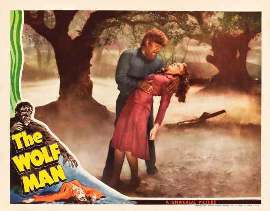 The Wolf Man Lobby Card 1