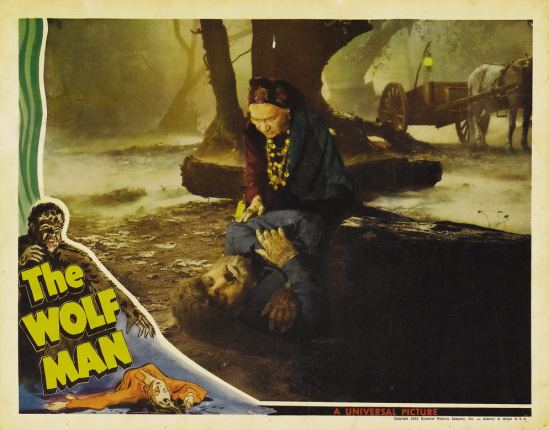 The Wolf Man Lobby Card 2