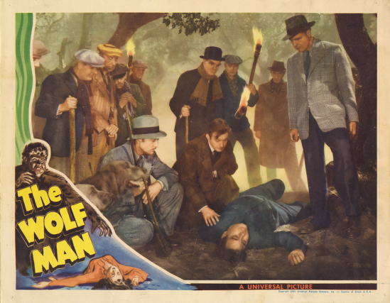 The Wolf Man Lobby Card 4