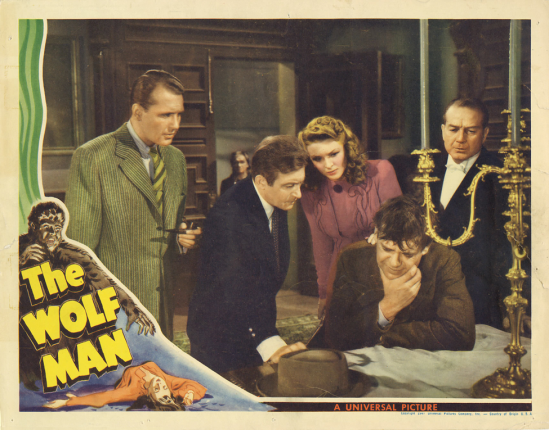 The Wolf Man Lobby Card 6