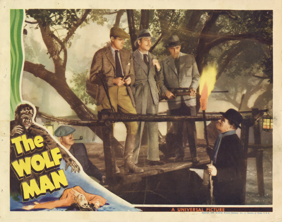 The Wolf Man Lobby Card 7