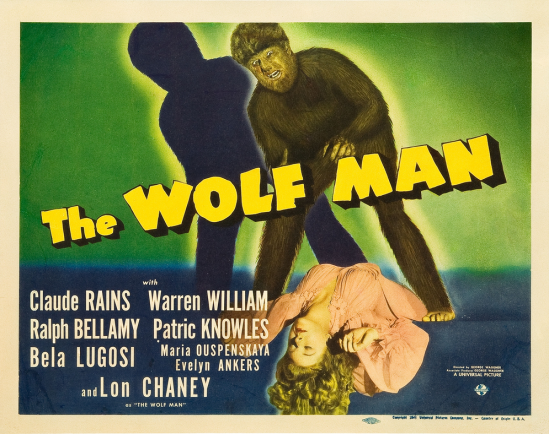 The Wolf Man Lobby Card