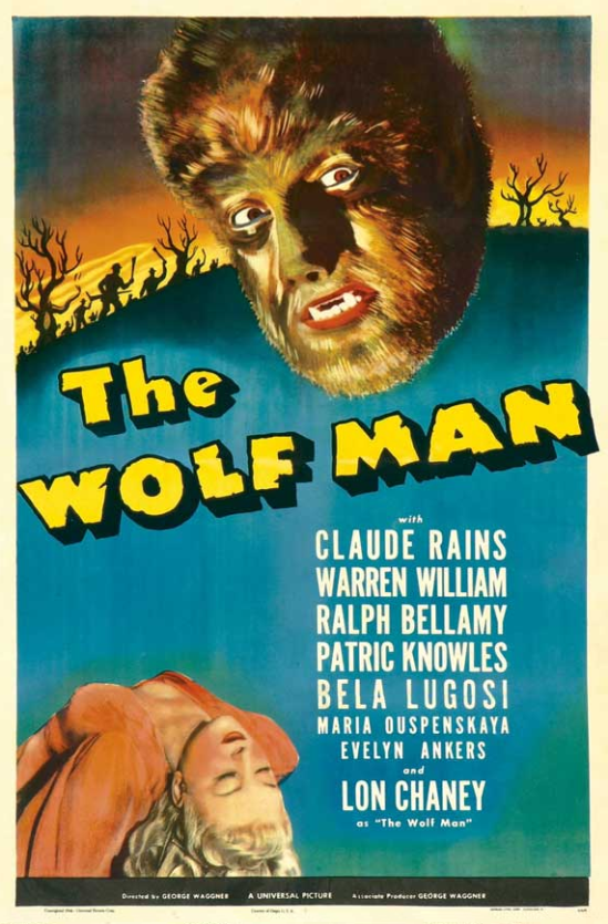 The Wolf Man One Sheet