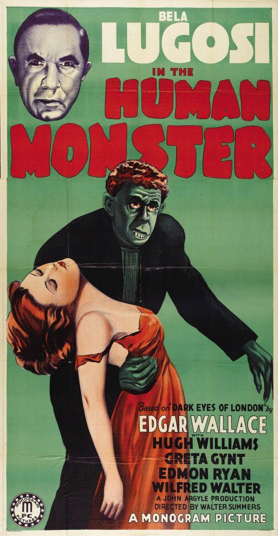 Human Monster Three Sheet