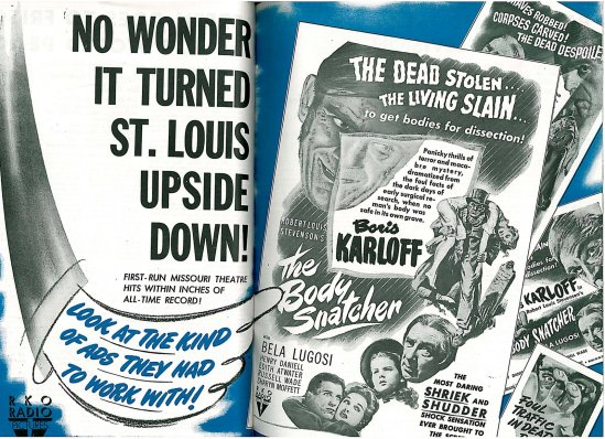 The Body Snatcher Trade Ad