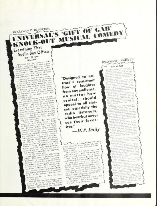 February 22 September 1934 Universal