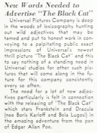 Universal Weekly, April 21, 1934