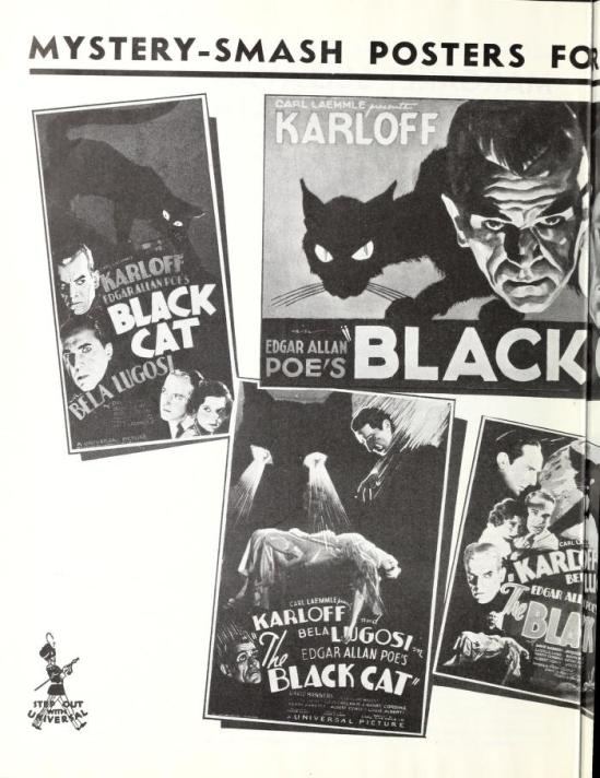 The Black Cat, Universal Weekly, April 28, 1934 1