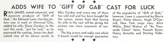 July 21, 1934 Universal weekly