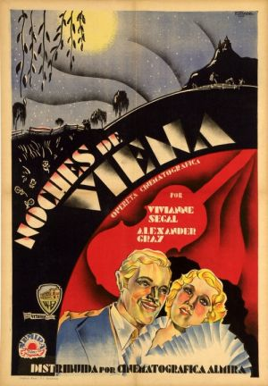Viennese Nights Spanish One Sheet