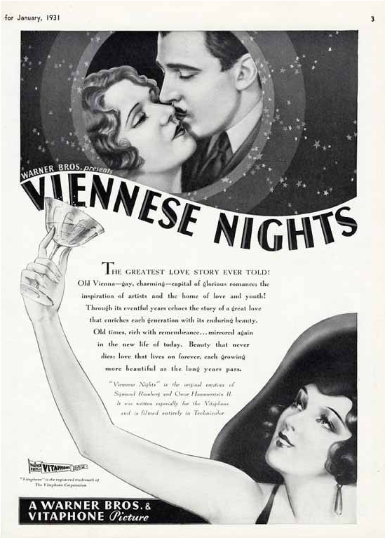Viennese Nights Trade Ad