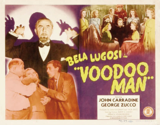 Voodoo Man Lobby Card 1