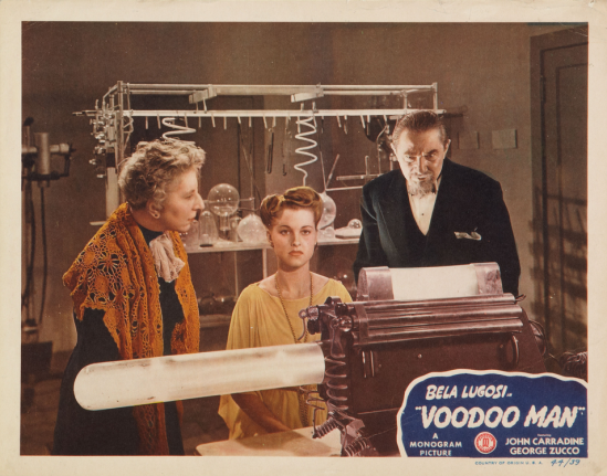 Voodoo Man Lobby Card 2