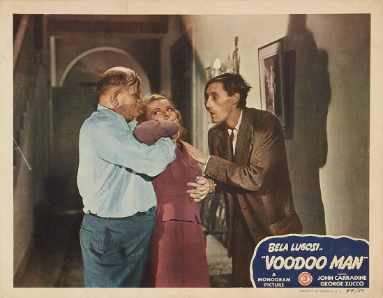 Voodoo Man Lobby Card 3