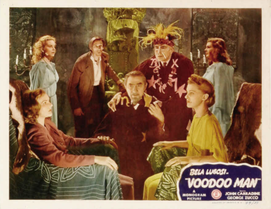 Voodoo Man Lobby Card 7
