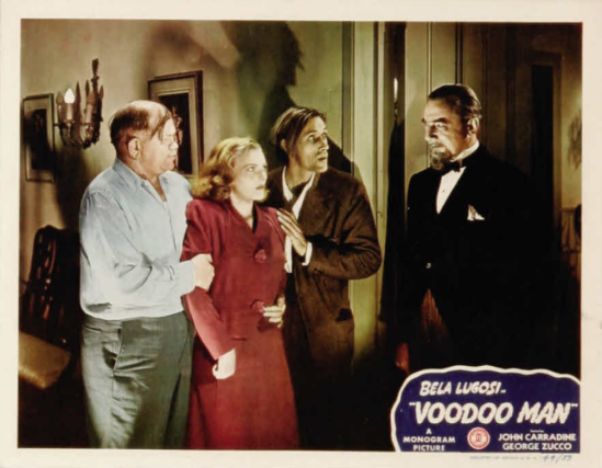 Voodoo Man Lobby Card 8