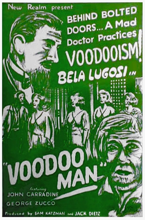 Voodoo Man Re-Release One Sheet