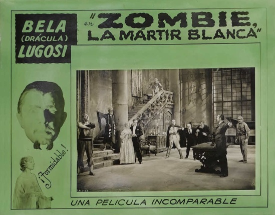 White Zombie 1930s Spanish Lobby Card 1
