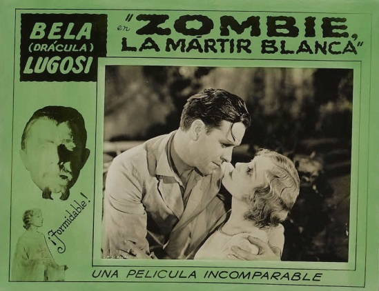 White Zombie 1930s Spanish Lobby Card 2
