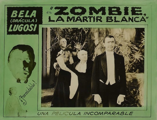 White Zombie 1930s Spanish Lobby Card 3