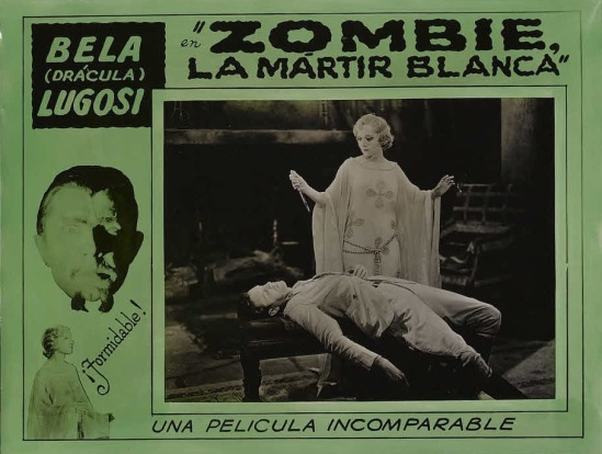White Zombie 1930s Spanish Lobby Card 4