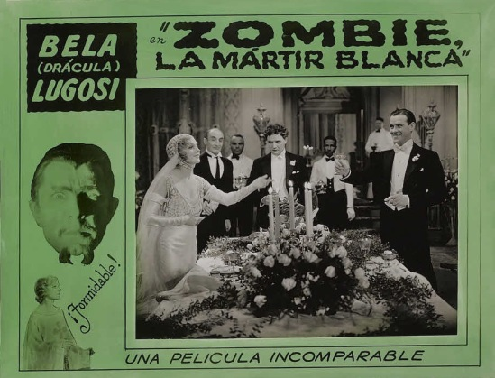 White Zombie 1930s Spanish Lobby Card 5