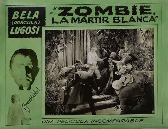 White Zombie 1930s Spanish Lobby Card 6