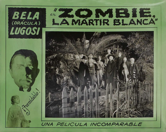 White Zombie 1930s Spanish Lobby Card 7