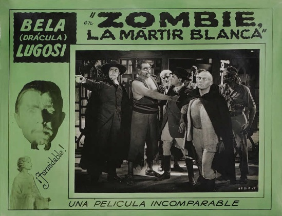 White Zombie 1930s Spanish Lobby Card 8