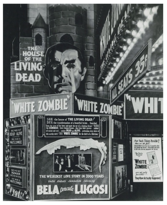 White Zombie the Regina Theater in Los Angeles (1932)