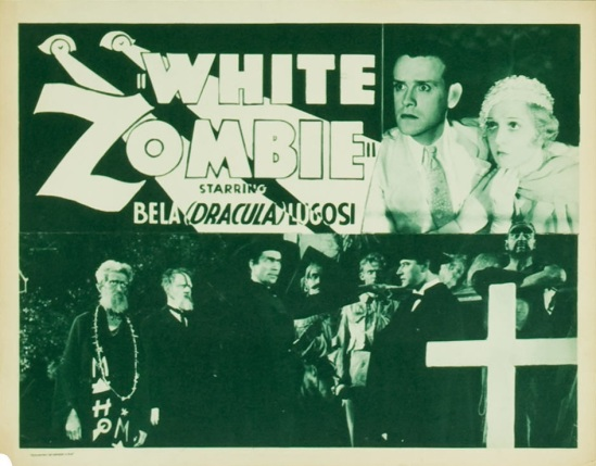 White Zombie 1938 Re-Release Lobby Card 1