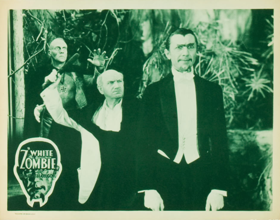White Zombie 1938 Re-Release Lobby Card 5