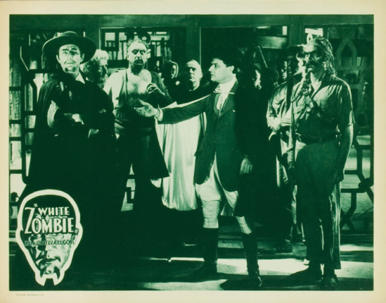 White Zombie 1938 Re-Release Lobby Card 8