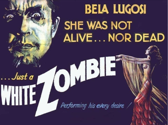 White Zombie Half Sheet Poster 2