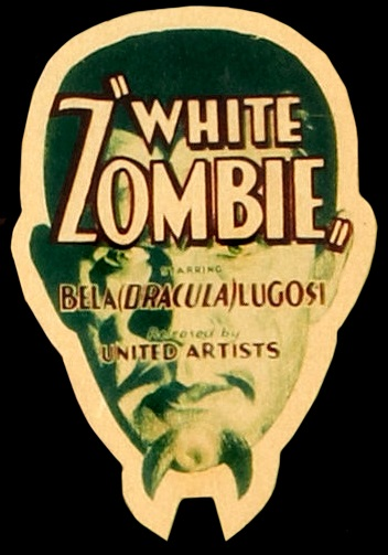 White Zombie Promotional Item