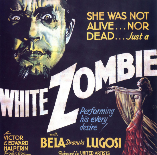 White Zombie Six Sheet Poster