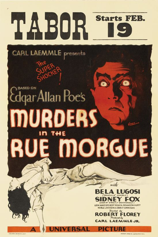 Murders In The Rue Morgue Window card 2