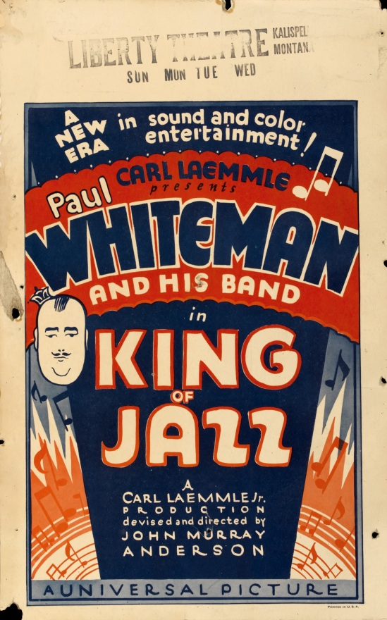 King of Jazz, Window card style B