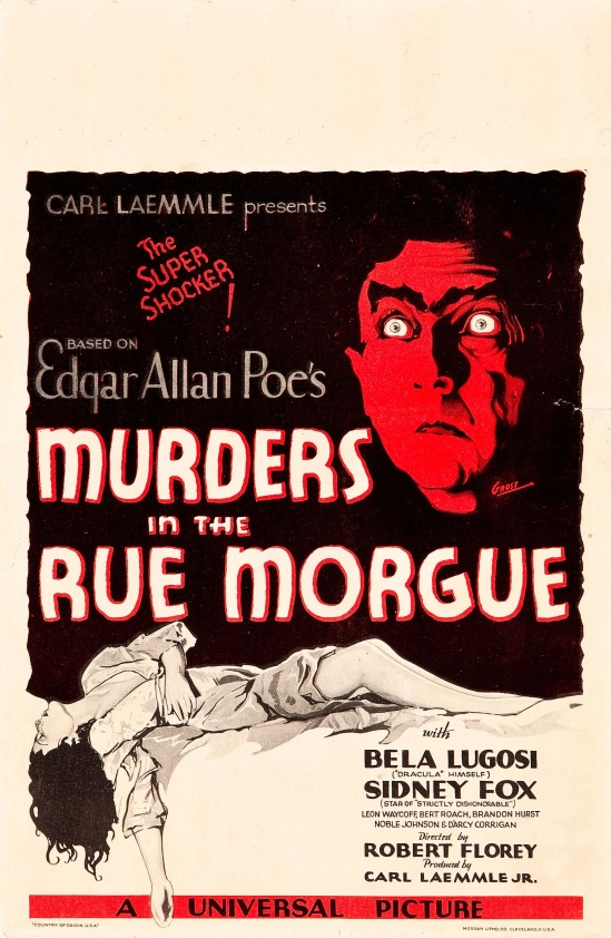 Murders In The Rue Morgue Window Card