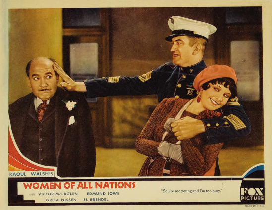 Women of all Nations Lobby Card 3